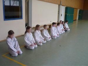 Karate für Anfänger Kindergruppe